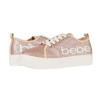 Bebe べべ レディース 女性用 シューズ 靴 スニーカー 運動靴 Dovie - Rose Gold