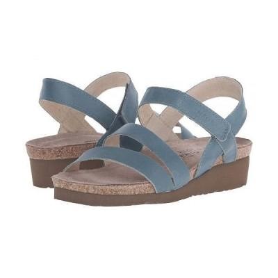 Naot ナオト レディース 女性用 シューズ 靴 サンダル Kayla - Sea Green Leather