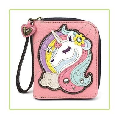 CHALA Zip-Around Wallet - Unicorn-Pink【並行輸入品】