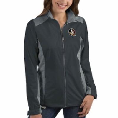 Antigua アンティグア スポーツ用品  Antigua Florida State Seminoles Womens Charcoal Revolve Full-Zip Jacket