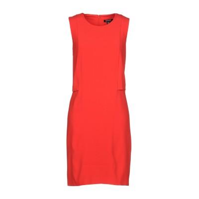 DKNY ミニワンピース&ドレス レッド S トリアセテート 82% / ポリエステル 18% ミニワンピース&ドレス