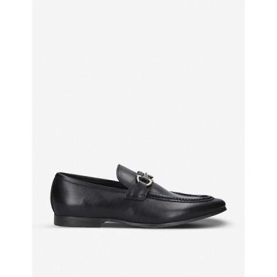 アルド ALDO メンズ ローファー シューズ・靴 Daywen buckle-embellished leather loafers BLACK