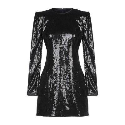 ディースクエアード DSQUARED2 ミニワンピース&ドレス ブラック 38 ポリエステル 100% / シルク ミニワンピース&ドレス