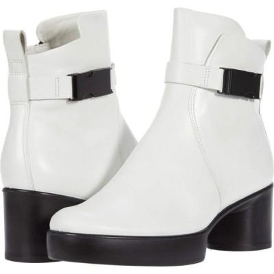 エコー ECCO レディース ブーツ シューズ・靴 Shape Sculptured Motion 35 Buckle Boot Bright White