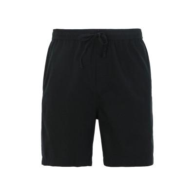 DEDICATED. ショートパンツ&バミューダ ブラック XL オーガニックコットン 100% ショートパンツ&バミューダ