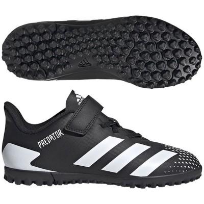 ジュニア プレデター 20.4 TF J ベルクロ フットウェアホワイト×ポップ 【adidas|アディダス】サッカーフットサルジュニアトレーニングシ