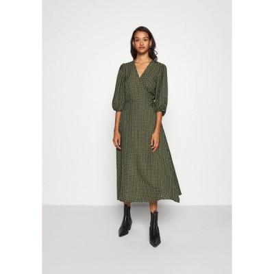 ミニマム ワンピース レディース トップス ELMINA - Day dress - dark olive
