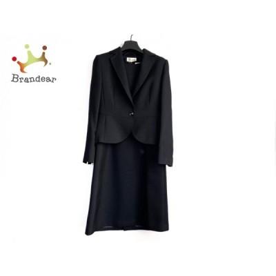 トウキョウソワール Tokyo Soir ワンピーススーツ サイズ9 M レディース 美品 - ダークネイビー 新着 20201227