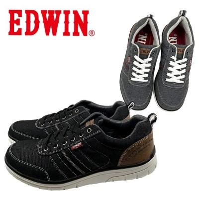エドウィン スニーカー カジュアル ストレッチ 超軽量 伸縮素材 靴 メンズ EDM-7143