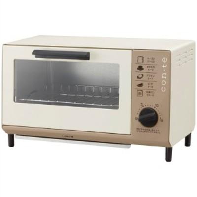 ツインバード TWINBIRD コンテ オーブントースター TS-4041BR 送料無料 キッチン用品