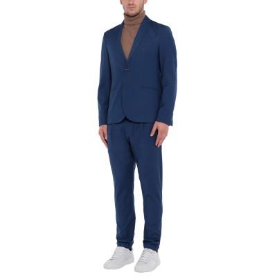 OFFICINA 36 スーツ ブルー 50 ポリエステル 65% / レーヨン 35% スーツ