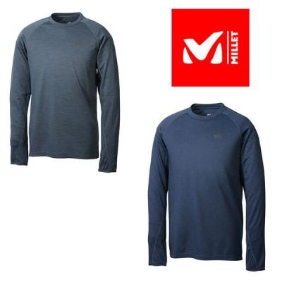 ミレー キャスター ウール クルー ロングスリーブ MIV01807 メンズ/男性用 Tシャツ  2020年秋冬新作