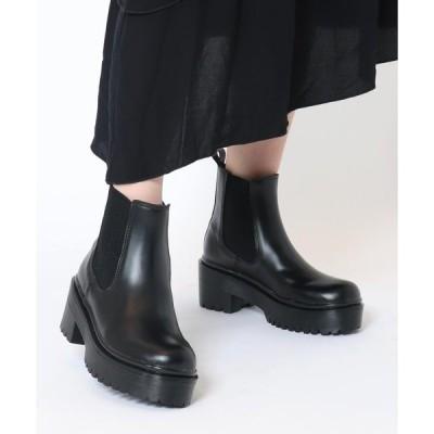 ブーツ 【EVOL】サイドゴアブーツLP40183