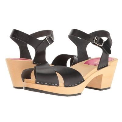 スウェディッシュ ハズビーンズ Swedish Hasbeens レディース サンダル・ミュール シューズ・靴 Mirja Black