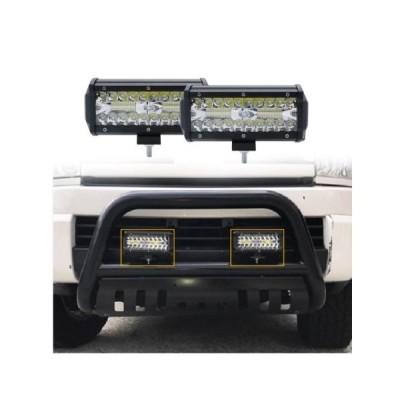LED フォグランプ ワークライト LED 汎用 12V 24V 7インチ120W 車 トラック