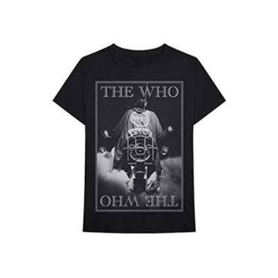 The Who メンズ クアドロフェニア スリムフィット Tシャツ ブラック US サイズ: Medium カラー: ブラック
