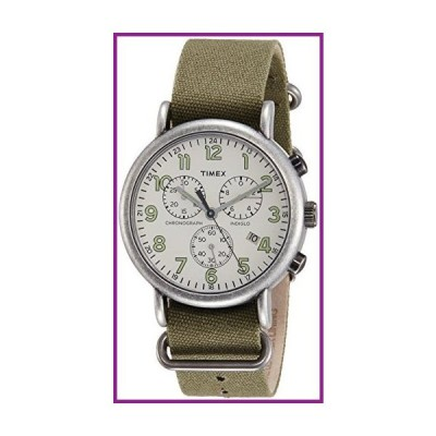 Timex Weekender Cream Dial Nylon Strap Men's Watch TW2P85500【並行輸入品】