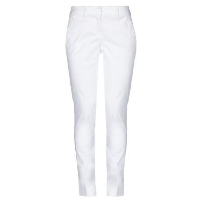 HANITA パンツ ホワイト 38 コットン 97% / ポリウレタン 3% パンツ
