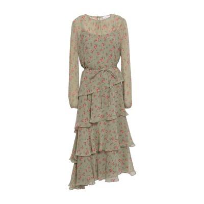 MIKAEL AGHAL 7分丈ワンピース・ドレス ミリタリーグリーン 4 ポリエステル 100% 7分丈ワンピース・ドレス