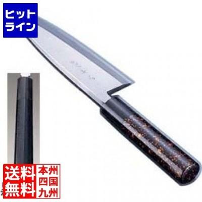 歌舞伎調和庖丁 忠舟 出刃 15cm 黒石目 ATD0202