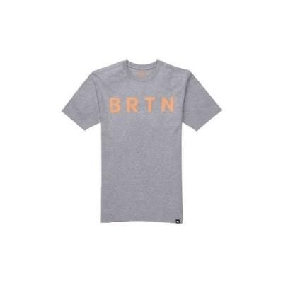 tシャツ Tシャツ オーガニックコットン 半袖 BRTN ロゴ Tシャツ