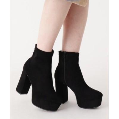 ESPERANZA / ボリュームソールショートブーツ WOMEN シューズ > ブーツ