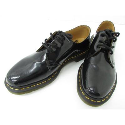 Dr.Martens ドクターマーチン エナメル 3ホール ブーツ SIZE:UK8 ▼SH4468