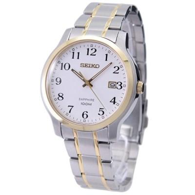 セイコー SEIKO 腕時計 クオーツ ホワイト 海外モデル SGEH68P1 メンズ [逆輸入品]