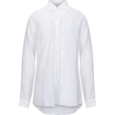 シリオ SIRIO メンズ シャツ トップス Linen Shirt White