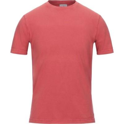 ピューテリー PEUTEREY メンズ Tシャツ トップス T-Shirt Coral