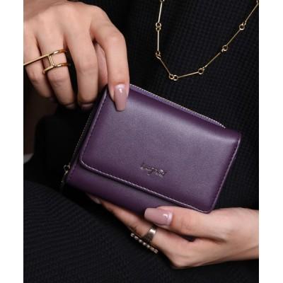 style code / 【Ungrid/アングリッド】 スムースミニウォレット WOMEN 財布/小物 > 財布