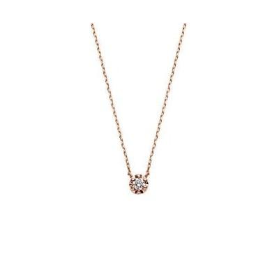 ヴァンドーム青山 VENDOME AOYAMA K10 ピンクゴールド ダイヤモンドネックレス AJAN149040DI
