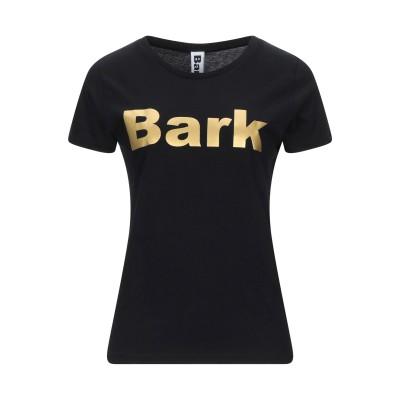 バーク BARK T シャツ ブラック XS オーガニックコットン 100% T シャツ
