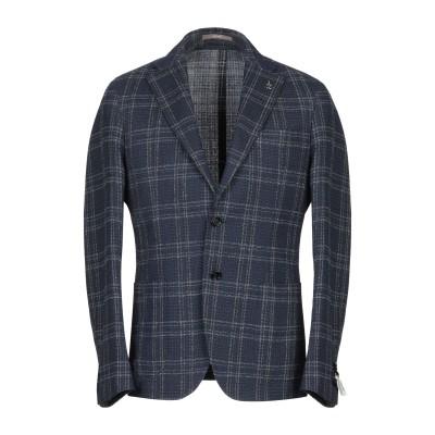 パオローニ PAOLONI テーラードジャケット ダークブルー 54 ウール 72% / コットン 23% / ナイロン 5% テーラードジャケット