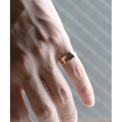 MASSIVE STORE / 【YArKA/ヤーカ】silver925 simple  ring[dt] /シンプル凹みリング シルバー925 MEN アクセサリー > リング