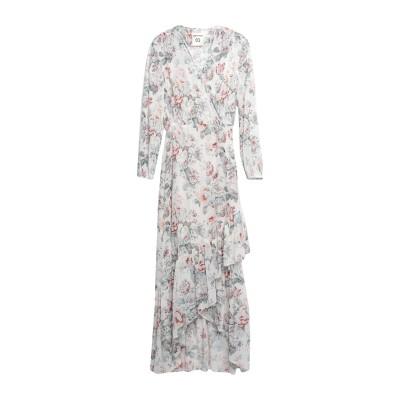 セミクチュール SEMICOUTURE ロングワンピース&ドレス アイボリー 38 ポリエステル 100% ロングワンピース&ドレス