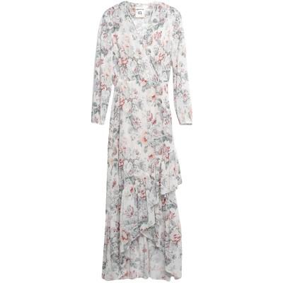 セミクチュール SEMICOUTURE ロングワンピース&ドレス アイボリー 46 ポリエステル 100% ロングワンピース&ドレス