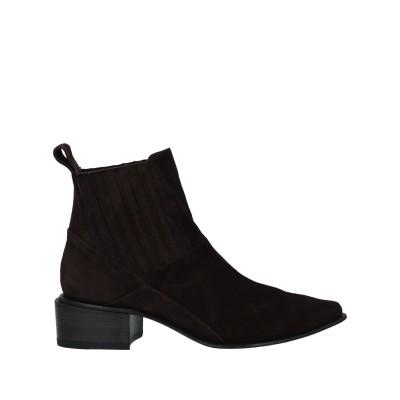 I.N.K. Shoes ショートブーツ ダークブラウン 36 革 ショートブーツ