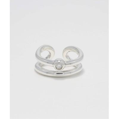 レディース ヴェルメイユ パー イエナ 【SYMPATHY OF SOUL/シンパシーオブソウル】LABO Circle Ring(シルバー) シルバー フリー