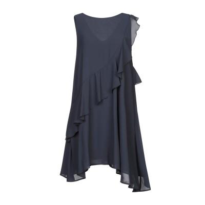カオス KAOS ミニワンピース&ドレス ダークブルー 40 ポリエステル 100% ミニワンピース&ドレス