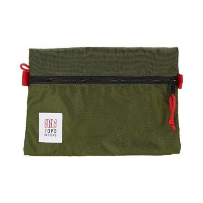 Topo Designs Medium Accessory Bags Olive/Olive One Size(並行輸入品)
