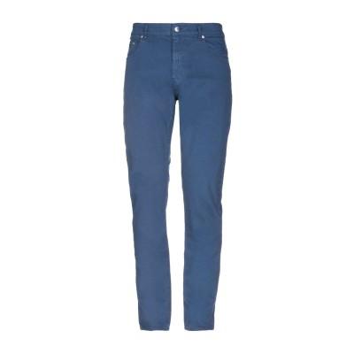 ラブ モスキーノ LOVE MOSCHINO パンツ ブルー 31 コットン 97% / ポリウレタン 3% パンツ