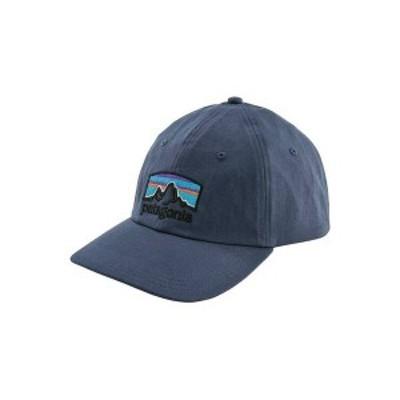 パタゴニア メンズ 帽子 アクセサリー Patagonia Men's Fitz Roy Horizons Traditional Cap Dolomite Blue
