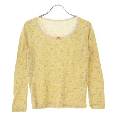 franche lippee / フランシュリッペ 花柄 長袖カットソー