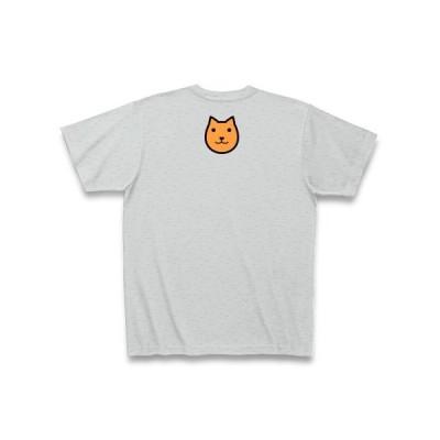 クターのアピアン[B] Tシャツ Pure Color Print (グレー)