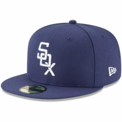 New Era ニュー エラ スポーツ用品  New Era Chicago White Sox Navy 2018 Turn Back The Clock 59FIFTY Fitted Hat