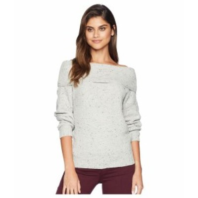 Michael Stars マイケルスターズ 服 スウェット Off the Shoulder Puff Sleeve Pullover