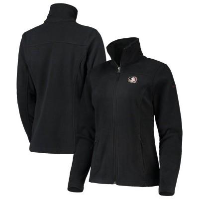 コロンビア ジャケット・ブルゾン アウター レディース Florida State Seminoles Columbia Women's Give & Go II Fleece Full-Zip Jacket Black