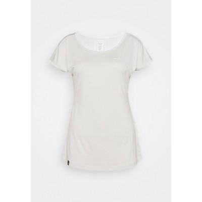 サレワ シャツ レディース トップス PUEZ DRY TEE - Basic T-shirt - white melange