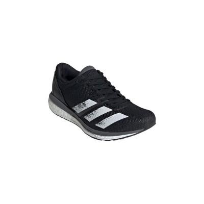 adidas/アディダス  adizero Boston 8 w 27.0cm コアブラック×フットウェアホワイト×グレーファイブ EG1168